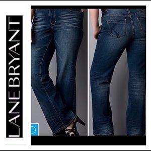 🍁Lane Bryant Distictly Boot Cut Jeans 🍁